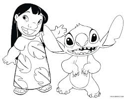 Lilo And Stitch Coloring Pages Ohana Betterfor