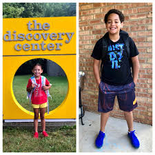 """Briana Wade on Twitter: """"1st Day of Preschool for Tamia and 1st Day of 5th  Grade for Jalen 📚… """""""