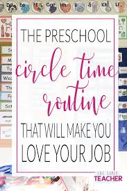 Preschool Circle Time Routine That Will Make You Love Your Job