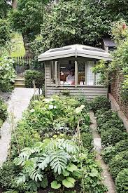 Small Picture London vegetable garden with shed Small Garden Designs