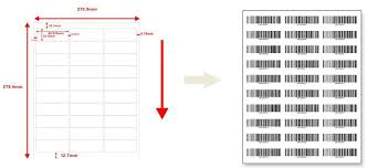 Avery Label Template 5160 How To Make Barcode Label