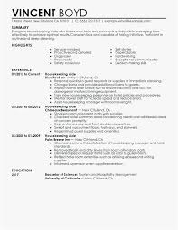 Housekeeper Resume Samples Free Templates House Cleaning Resume
