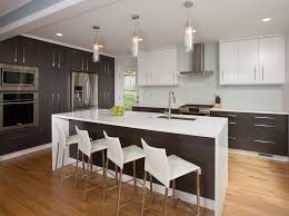 contemporary kitchen remodel by four brothers llc 2 glass