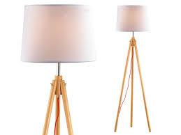 York Lamp In Natural Wood