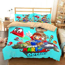 supermario bedding customize super odyssey bedding set duvet cover set bedroom set super mario brothers bedding target super mario bedding