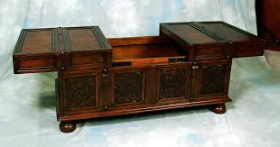 Amazing Trunk Style Coffee Table Storage Images