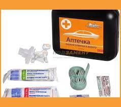 <b>Аптечка</b> первой помощи в дорогу, пластиковый футляр <b>AM04</b> ...