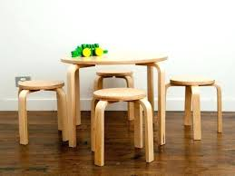 toddler table and chairs wood wooden child furniture valuable children childrens wo