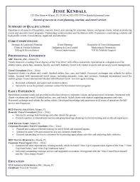 Bartender Resume Skills Sample Http Www Resumecareer Info