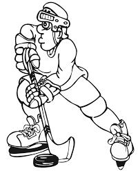 Kleurplaat Hockey Sport Woyaoluinfo