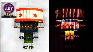diy pendent lamp lantern how to make a pendant light out of popscile sticks art with creativity you