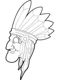 Native American Coloring Pages Printables Native Coloring Es