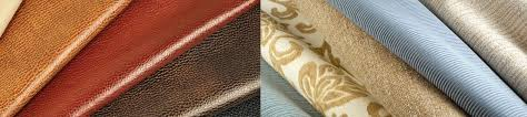 types of leather fabric