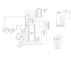 High voltage atmega328 programmer schematic diagram