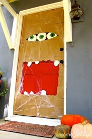 decorating office for halloween. Halloween-Door-Monster-Decorating-Ideas-with-pumpkin Decorating Office For Halloween I