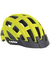 Details About Lazer Compact Helmet Road Flash Yellow One Size