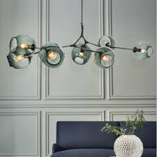 dutti d0002 led chandelier copper nordic for living room restaurant lights bedroom magic beans light 9