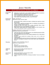 Summary For Resume Examples Extraordinary Here Are Resume Profile Samples Personal Sample Template Brick Red