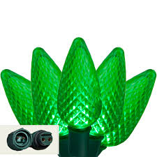 led christmas lights commercial 25 green c9 led christmas lights led christmas lights commercial 25 green c9 led christmas lights 12 spacing