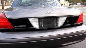 2001 Ford Crown Victoria P71 Police Interceptor 117k $5300 - YouTube