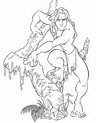 Http Colorings Co Tarzan Coloring Pages