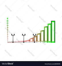 Stock Bar Chart Example Example Of Business Bar Graph Infographics Bar