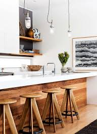 kitchen wood furniture. Beach Inspired With Timber Fronted Kitchen Island Bench. THE BOWER - Hare \u0026 Klein Wood Furniture