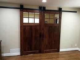 admirable double barn door rustic barn doors barncraft by glasscraft double z two panel barn