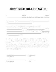 Personal Bill Of Sale For Car Vehicle Bill Of Sale Template Sample Sales Word Free Blank