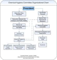 Expository Safety Committee Organization Chart Sample 2019