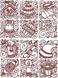 Free Redwork Quilt Patterns | Advanced Embroidery Designs ... & Free Redwork Quilt Patterns | Advanced Embroidery Designs - Redwork  Christmas Block Set. Adamdwight.com