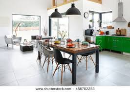 modern dining room pictures free. modern dining room with table, scandinavian interior pictures free