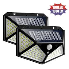 Defiant Stick On Light 3 Model Switch 100leds Defiant Motion Security Light Outdoor Solar Power Wall Lamps Led Night Light