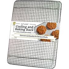 cookie sheet with cooling rack amazon com bellemain cooling rack baking rack chef quality 12