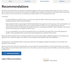 ucs letter of recommendation application requirements usc rossier school of education