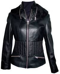 arrow custom fit womens lambskin real leather motorcycle jacket