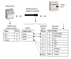 rs485 2 wire wiring diagram wiring diagrams what is the configuration of connecting twido 24drf through port 1