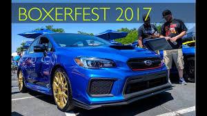2018 subaru sti ra.  Subaru I Saw The 2018 WRX STI Type RA BoxerFest 2017 Intended Subaru Sti Ra