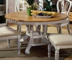 hilale wilshire round oval dining table antique white