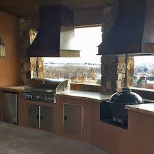 fort collins co built in gas grill and outdoor kitchen bbq island
