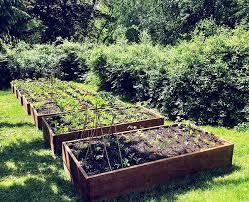 solid teak custom crafted raised garden