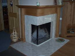 corner two sided fireplace mantels corner fireplaces big tiles design ideas