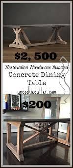 concrete dining table uncookiecutter