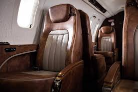 warm colored interior learjet 75lxi lxi tuscany