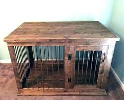 wooden dog crate furniture. Wood Dog Crate Furniture Coffee Table Kennel Tables Wooden