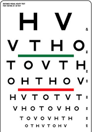 Visual Acuity Snellen Eye Chart Top Quality By Bexco Brand Snellen Eye Visual Acuity Chart