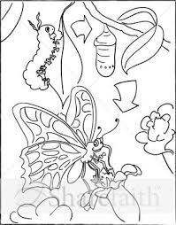 Small Picture Beautiful Monarch Caterpillar Coloring Page Ideas Coloring Page