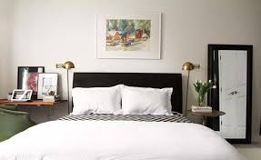 black furniture decor. Pair A Bold Black Headboard And Decor With White Walls To Add Lightness Your Bedroom. Furniture