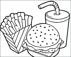 Cute Food Coloring Pages Fresh Unique Kawaii Food Coloring Pages