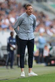 Bayern munich are in talks with rb leipzig to tempt julian nagelsmann to take over as coach from hansi flick next season, but german media claimed. Head Coach Julian Nagelsmann Of Tsg 1899 Hoffenheim Reacts During The Old Man Fashion Coach Mode Fashion